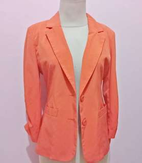 MAGNOLIA orange Blazer