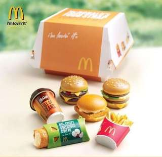 McDonalds miniature set