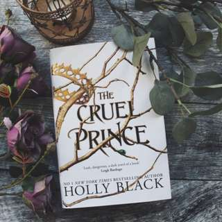 The Cruel Prince by Holly Black (hardback with signed bookplate)