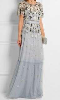 Needle & Thread tulle embellished dress 珠片長網紗裙 prewedding
