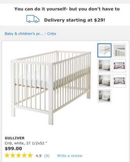 Moving out - Ikea Baby Cot