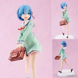 (PO) Re:ZERO -Starting Life in Another World- Rem High School Uniform Ver. 1/7 Complete Figure