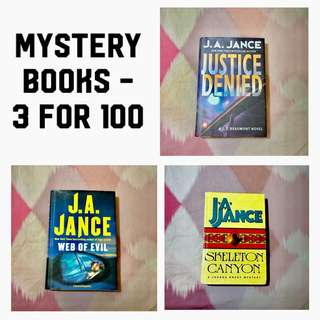 3 for 100 - Mystery Books