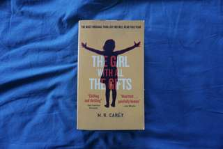 The Girl With All The Gifts - M.R. Carey #bookbazaar