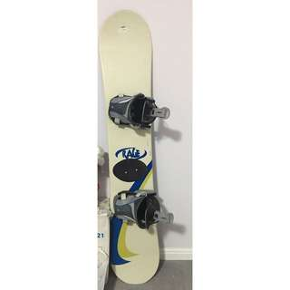 Rage Snowboard with Flow Bindings
