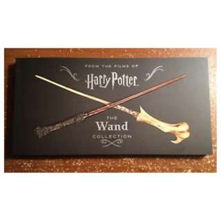 Harry Potter The Wand Collection Book (Official licensed, softback)