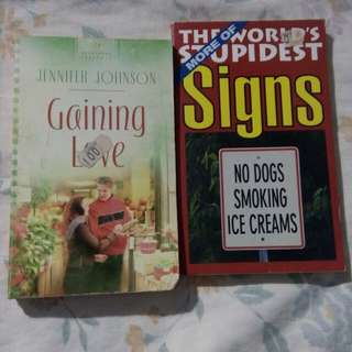 BOOKS (Love story & Entertainment)