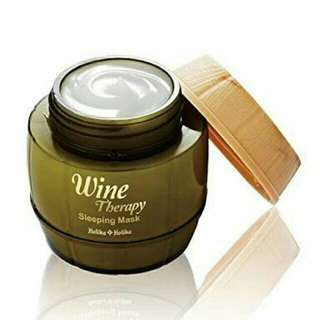 Holika holika white wine sleeping mask