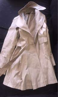Via Spiga Mid Length Trench Coat