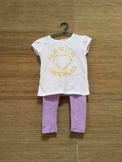 SET KIDS Girl Shirt & Pajama