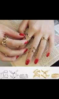 3 in 1 Fashion Rings 😍