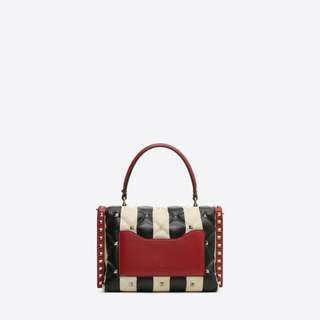 Valentino Candystud Top Handle Bag  Authentic