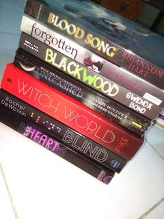 English Novels Bundle [RM18 for one] [RM100 for all]