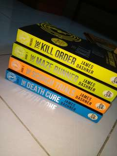 The Maze Runner Trilogy Series + The Kill Order Prequel [Bundle]