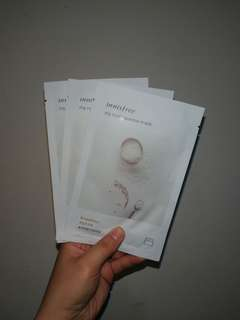#20under Innisfree My Real Squeeze Mask (Rice)