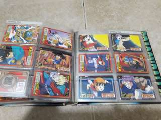Assorted Collectible Anime Cards