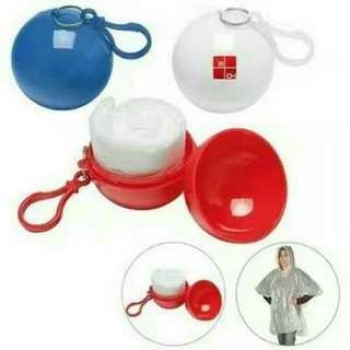 foldable raincoat ball
