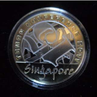 2011 Singapore The 15th Teman Conference Medallion