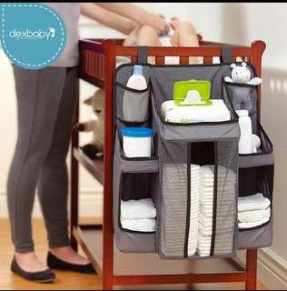 美國Dexbaby 嬰兒床收納置物袋