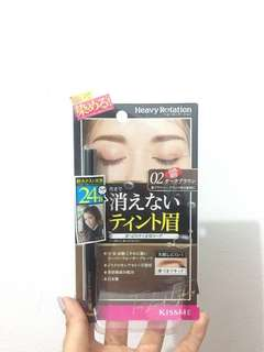 Heavy rotation eye brow tint