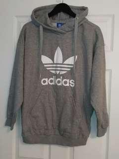 Adidas Trefoil hoodie, size L