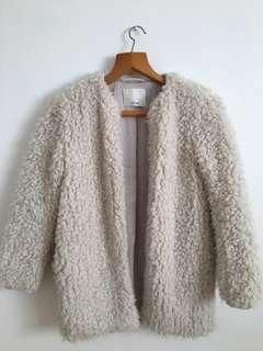 Wilfred Aritzia Teddy Coat XXS