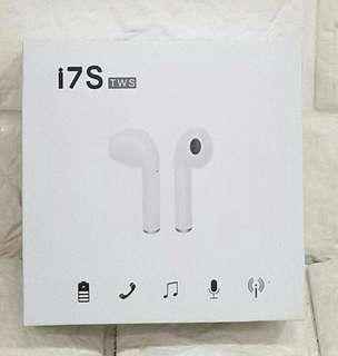 i7S 雙耳藍芽無線充電耳機組