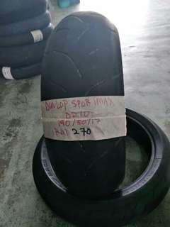 Dunlop sportmax D210 190/50/17