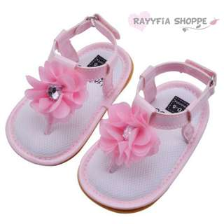 🎉CLEARANCE🎉 Baby Girls Flowers Sandal Prewalker Shoes