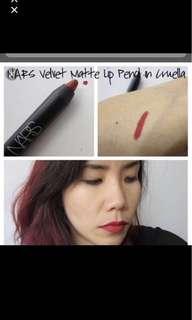 NARS Velvet matte lip pencil #cruella 1.8g