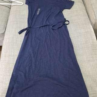 Uniqlo Blue Maxi Dress