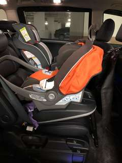 Peg perego infant seat with seat base