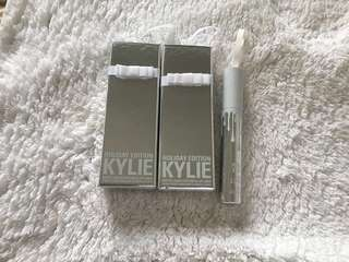 Kylie Cosmetics  Lip kits (holiday collection)