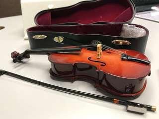 Violin viola decoration accessories 小提琴 中提琴 連 琴盒 裝飾 擺設