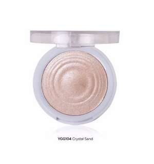 [IN-STOCK] J.Cat Beauty You Glow Girl Baked Highlighter YGG104 Crystal Sand, 2.4 ounces