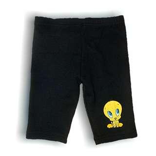 Looney Tunes Kids Girl Short Legging (Black)