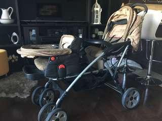 Edie Bauer double stroller
