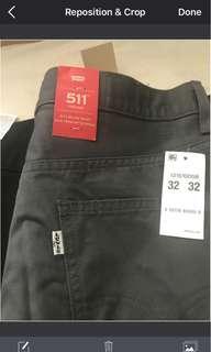 2x levis trouser brand new