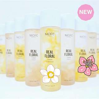 NACIFIC (Natural Pacific) Real Floral Toner