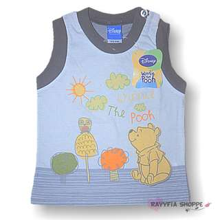 Disney Baby Boy The Pooh Singlet (Newborn)