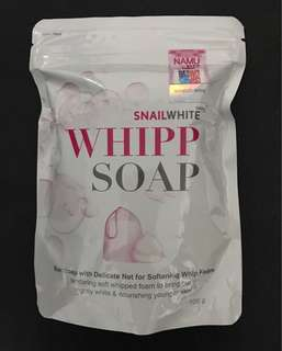 NAMU Life SNAIL WHITE Whipp Soap