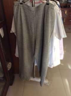 Over size Soft Linen Square Pants