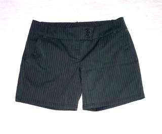 """""""New York & Co."""" Stripes Office/Corporate Shorts"""
