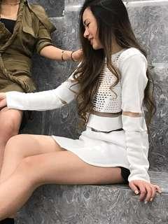 Alexander Wang H&M sweatshirt dress
