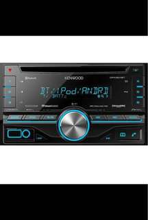 Kenwood DPX500BT Dual 2-DIN Sized CD Receiver with Built in Bluetooth