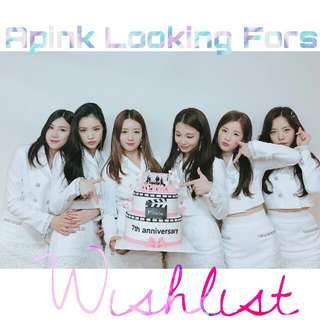 🌸WTB/LF/Looking For Apink Photocards