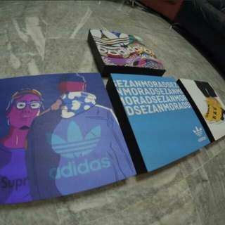 Adidas Personalize Wooden Poster Ready To Hang