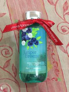 REPRICED! Bath & Body Works Juniper Breeze Shower Gel
