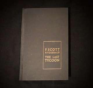 The Last Tycoon, F. Scott Fitzgerald