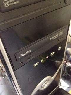 PC Q6600 Core 2 Quad / 4 Core With Ssd Samsung